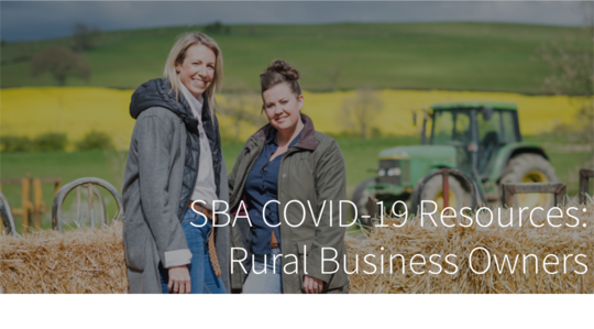 SBA Resources for Rural Businesses