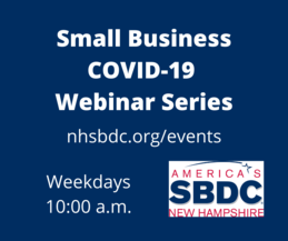 Small Business Webinar Series