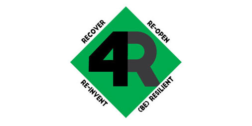 4R - Recover, Re-Open, Re-Invent, (be) Resilient