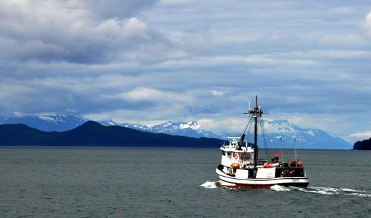 Fishing boat Alaska