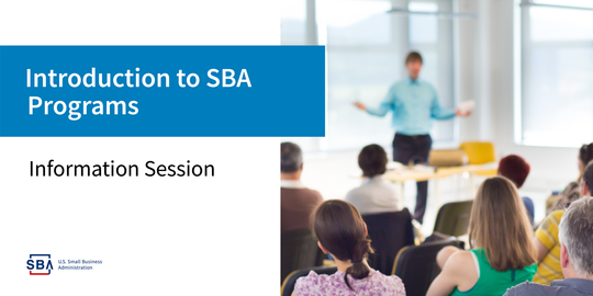 Introduction to SBA Programs