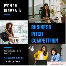 women innovate pitch competition