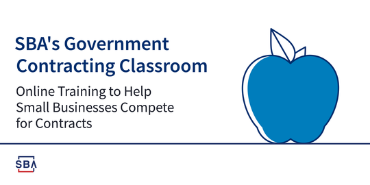 Government contracting classroom