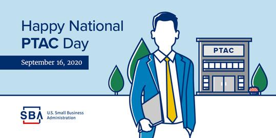 Happy National PTAC Day, September 16, 2020