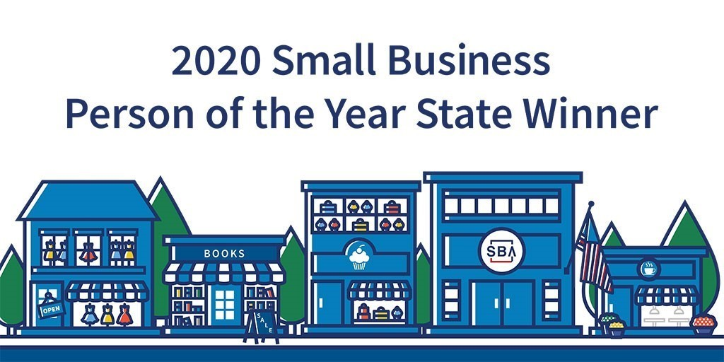 2020 Small Business Person of the Year State Winner