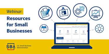webinar: resources for small businesses or small business