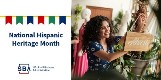 September 15 - October 15 is National Hispanic Heritage Month.