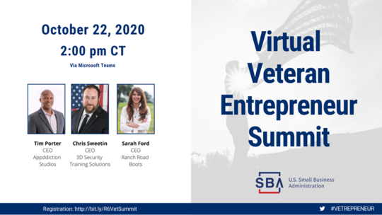 Virtual Veterans Summit