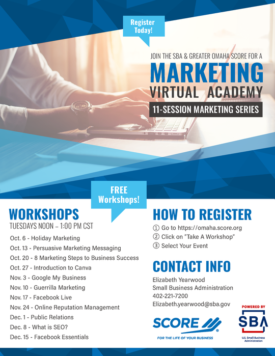 SCORE Marketing Academy