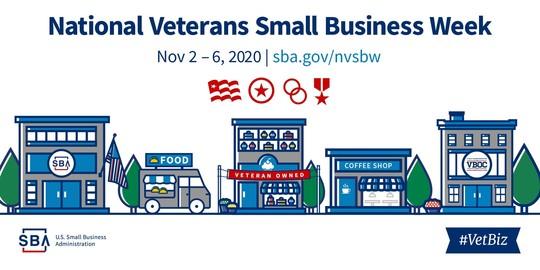 SBA is celebrating National Veterans Small Business Week