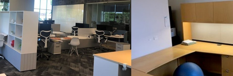 donated office furniture