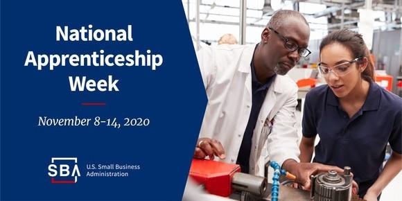 National Apprenticeship Week is November 8 to 14, 2020.