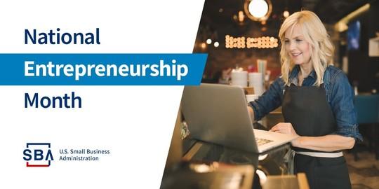 November is National Entrepreneurship Month