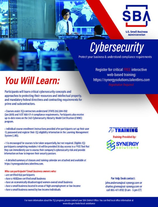 Cybersecurity November