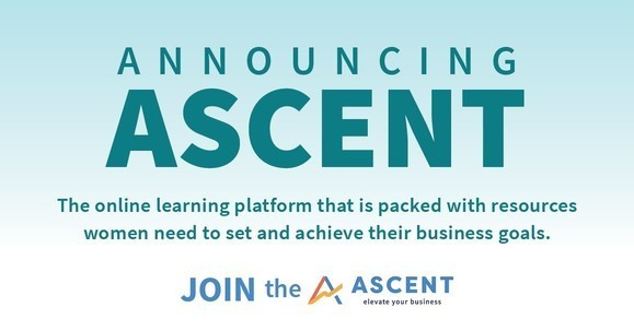SBA Ascent is an online learning platform with resources for women-owned small businesses. https://ascent.sba.gov/