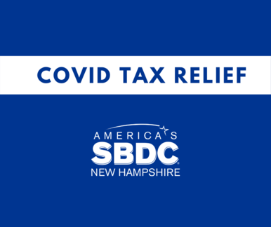 Covid Tax Relief NH SBDC