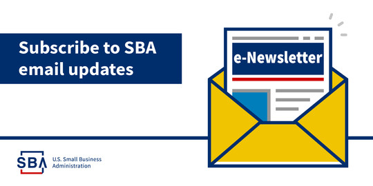 Subscribe to SBA Email Updates