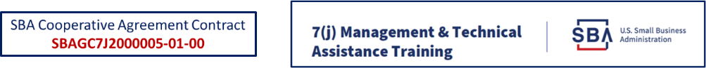 7(j) Technical and Management Assistance Provider