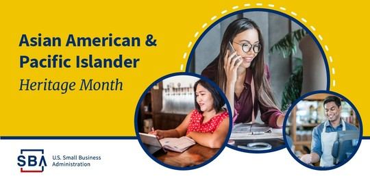 SBA is celebrating Asian American Pacific Island (AAPI) Month