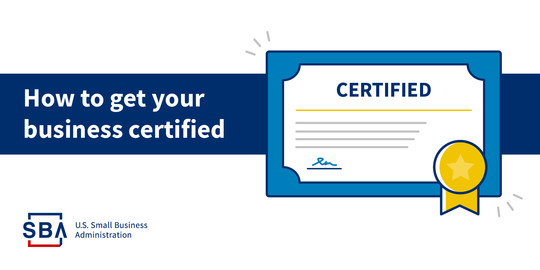 How to Get your Business Certified