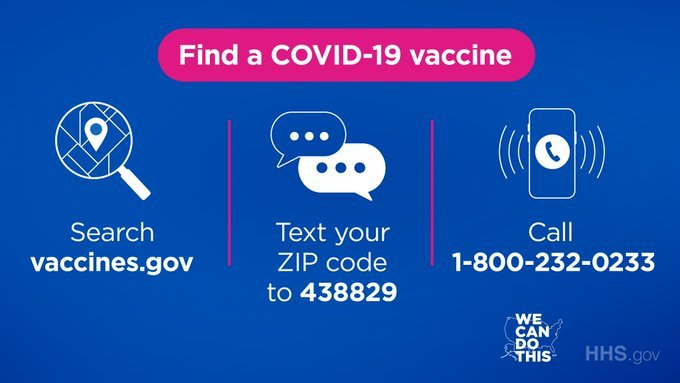 Find a COVID-19 vaccine