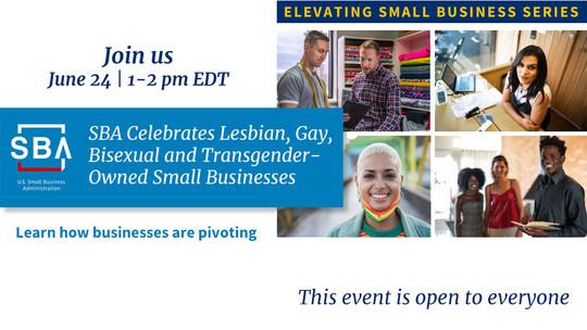 LGBT Webinar on June 24 at 1 pm EDT