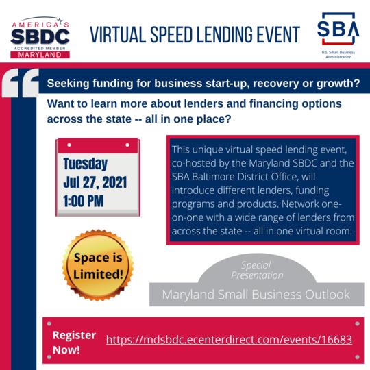 Virtual Speed Lending