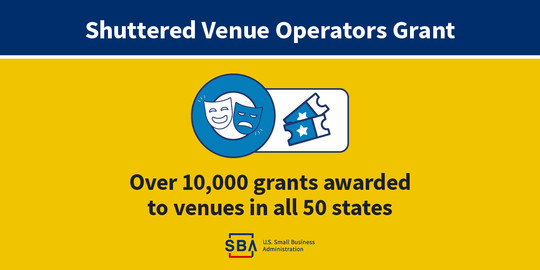 10k awards for shuttered venues across the country image