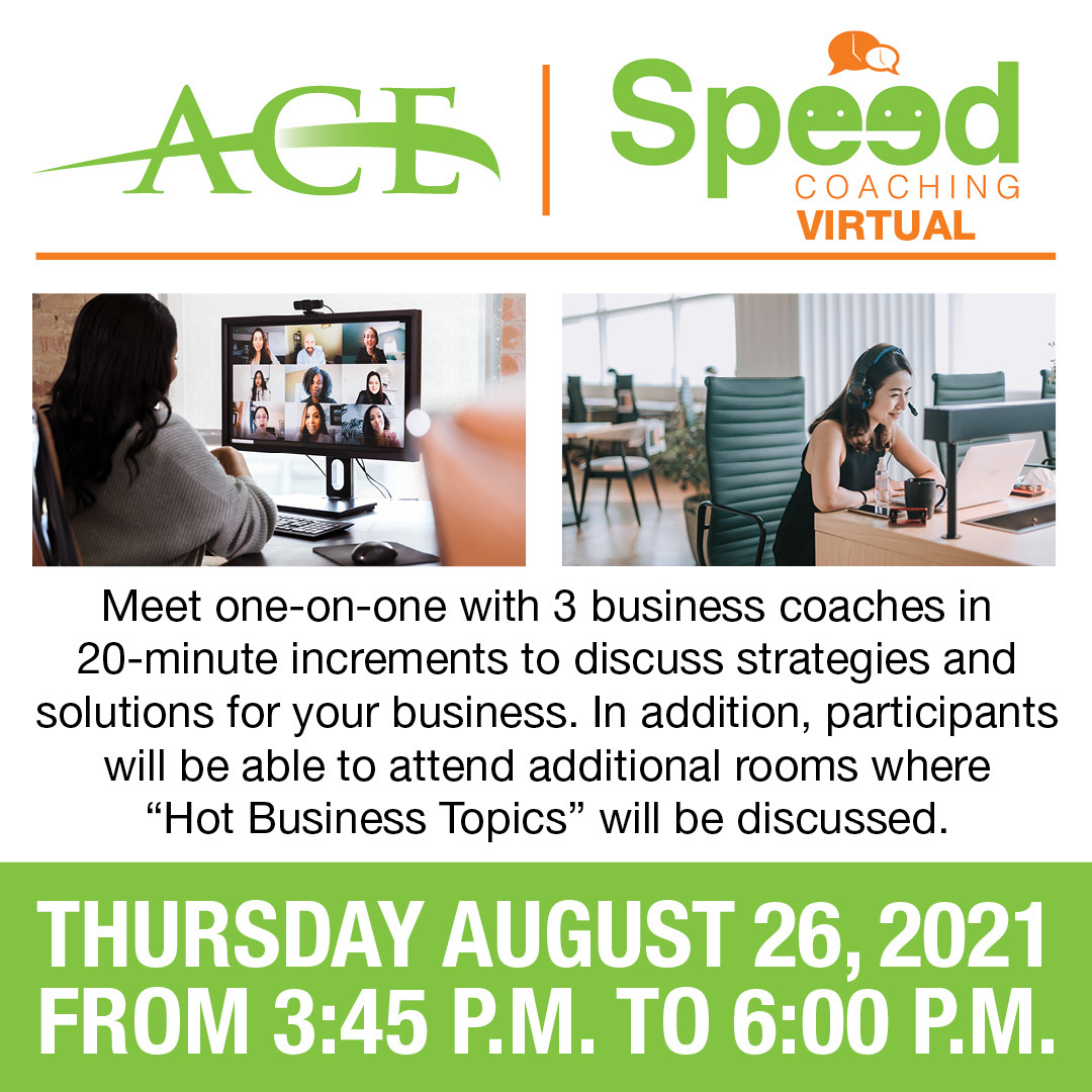 ACE Virtual Speed Coaching graphic