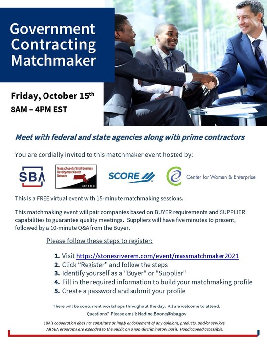 SBA Matchmaker