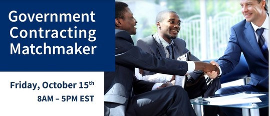 Government Contracting Matchmaker - MA  Oct. 15