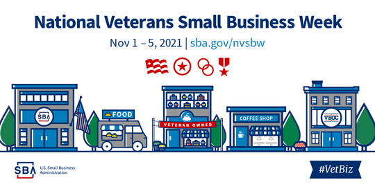 National Veterans Small Business Week 2021
