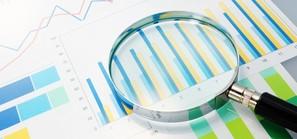 Quarterly Data Stock Image