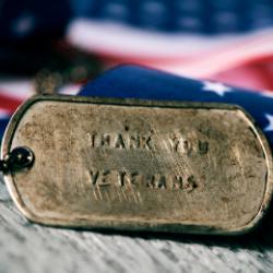 Veteran Thanks Tag