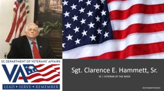 clarence veteran of the week
