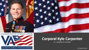 Kyle veteran of the week