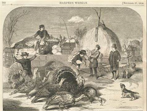 photo of thanksgiving in the civil war