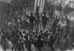 SC State History of First Black Troops