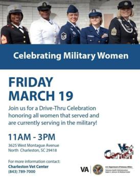 women vets celebration