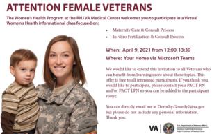 Virtual Women's Health informational class