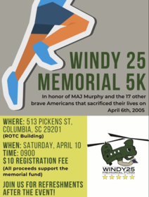 Windy 25 Memorial 5k
