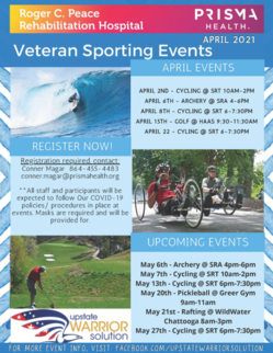 Veteran Sporting events