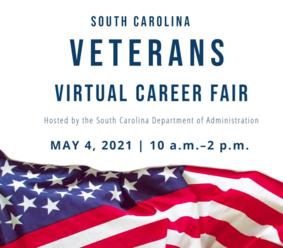 SC Veterans Virtual Career Fair Flyer