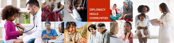 Diplomacy Heals Communities - Bureau of Medical Services
