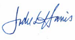 Jodie Harris Signature