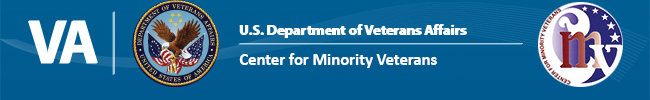 Center for Minority Veterans Banner