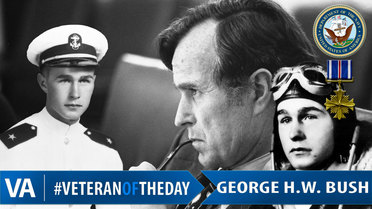 Veteran of the Day - George H. W. Bush