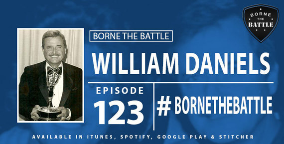 William Daniels - Borne the Battle