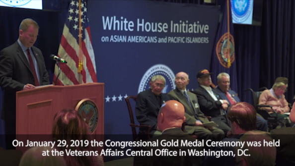 Chinese-American Veterans receive Congressional Gold Medals