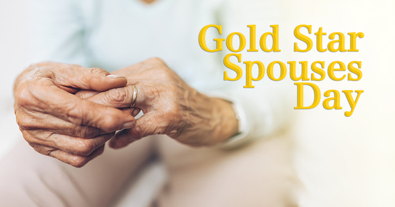 Gold Star Spouse Day